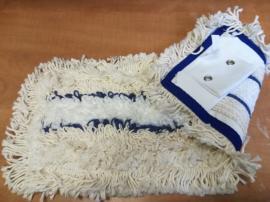 German tuft bújtatós,füles mop kék/fehér 40 cm