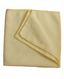 Economy mikroszálas törlőkendő 40x40 cm sárga