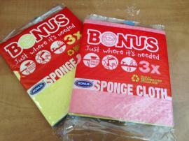 Bonus szivacsos törlőkendő