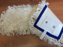 German tuft bújtatós füles mop fehér 40 cm