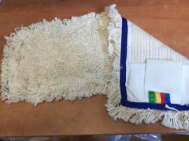 German tuft bújtatós füles mop fehér 50 cm