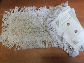 Vastag fonalú bújtatós mop fehér 40 cm